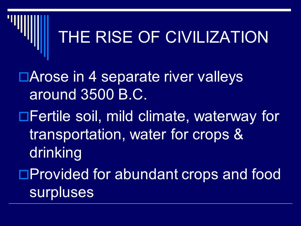MESOPOTAMIA (3500 B.C.E.-1700 B.C.E.) The Land between the Tigris and Euphrates Rivers –Also called The Fertile Crescent –First civilization was SUMER