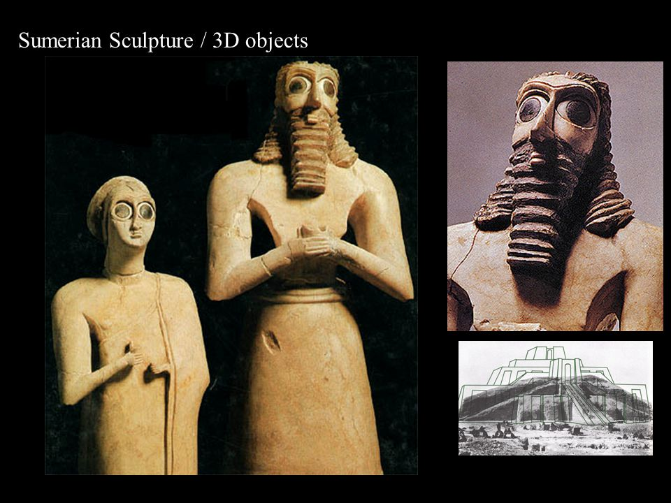 Sumerian Sculpture / 3D objects