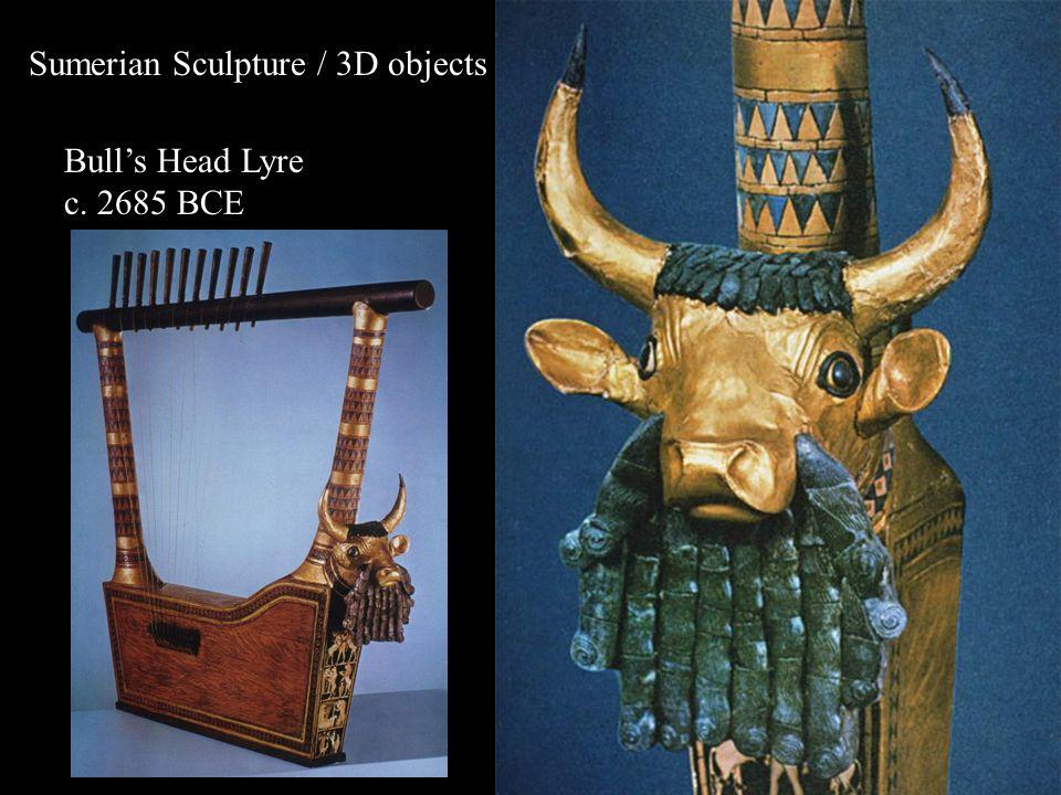 Bull's Head Lyre c. 2685 BCE
