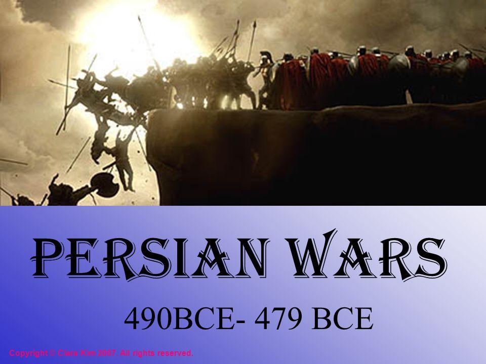 10 years later Xerxes, son of Darius vowed revenge.