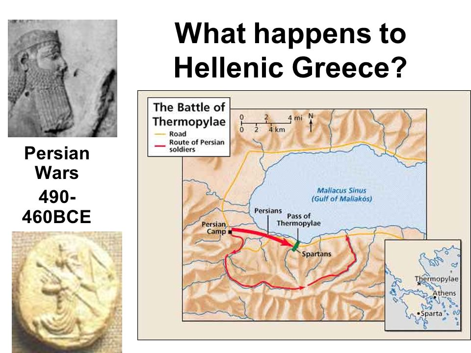 What happens to Hellenic Greece? Persian Wars 490- 460BCE