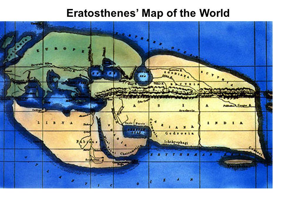 Eratosthenes' Map of the World