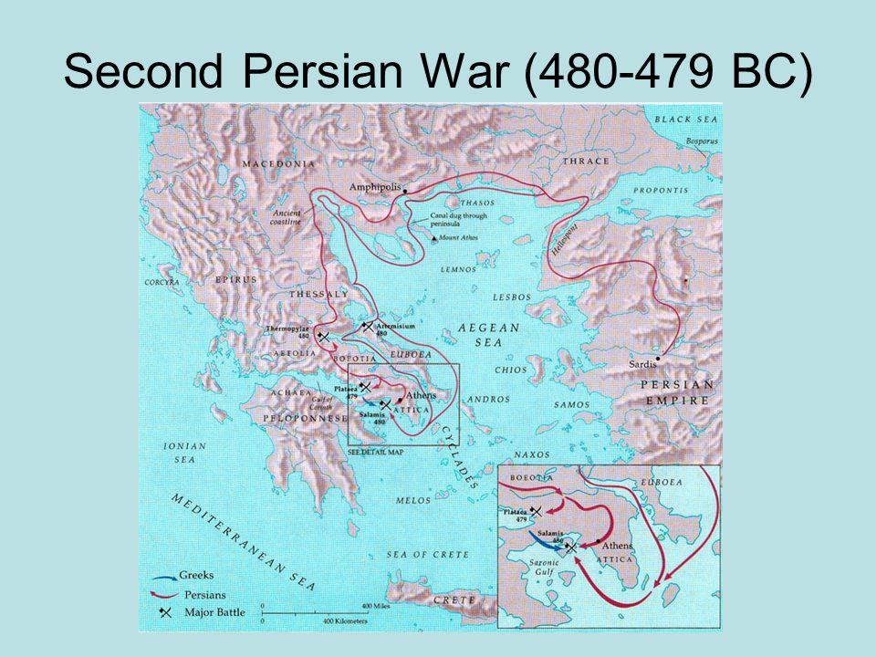 Second Persian War (480-479 BC)