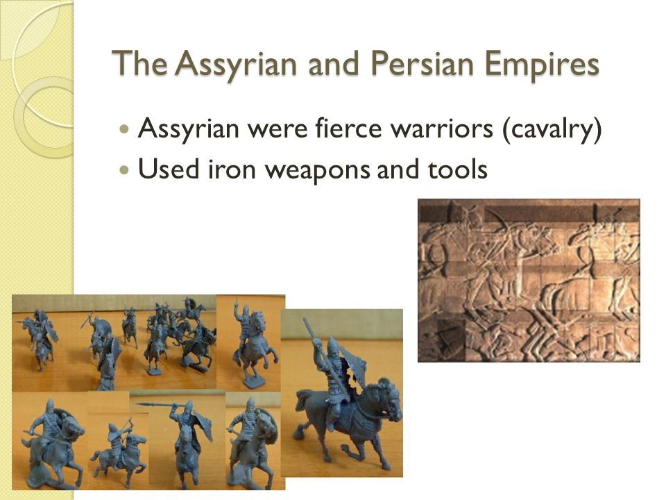 The Assyrian and Persian Empires Empire stretched from Persian Gulf across Fertile Crescent into Egypt Divided empire into 70 provinces (governor) Ashurbanipal moved capital Ninevah (Library filled with 20,000 cuneiform tablets) Nebuchadnezzar restored Babylon (Captured Jerusalem, Hanging Gardens)