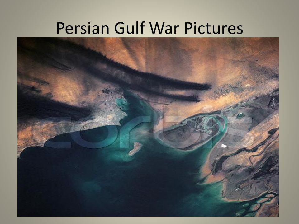 15 Persian Gulf War Pictures