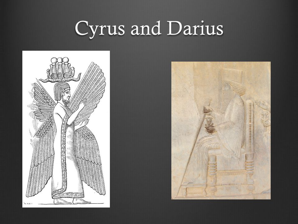 Cyrus and Darius