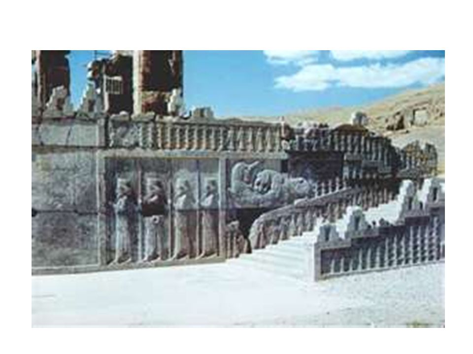 Persian Empire - POLITICAL Monarchy – but local rulers allowed to retain positions of power.