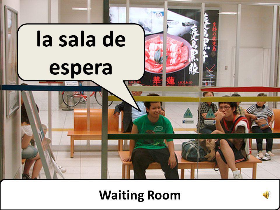 Waiting Room la sala de espera