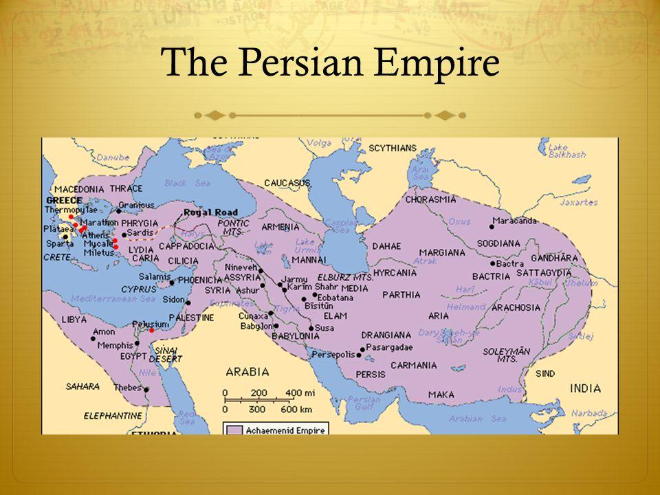 Rewards of Persian Empire  Bureaucracy  Satraps  Infrastructure  Royal Road  Military/Defense  The Immortals  Culture  Architecture  Zoroastrianism A Persian satrap