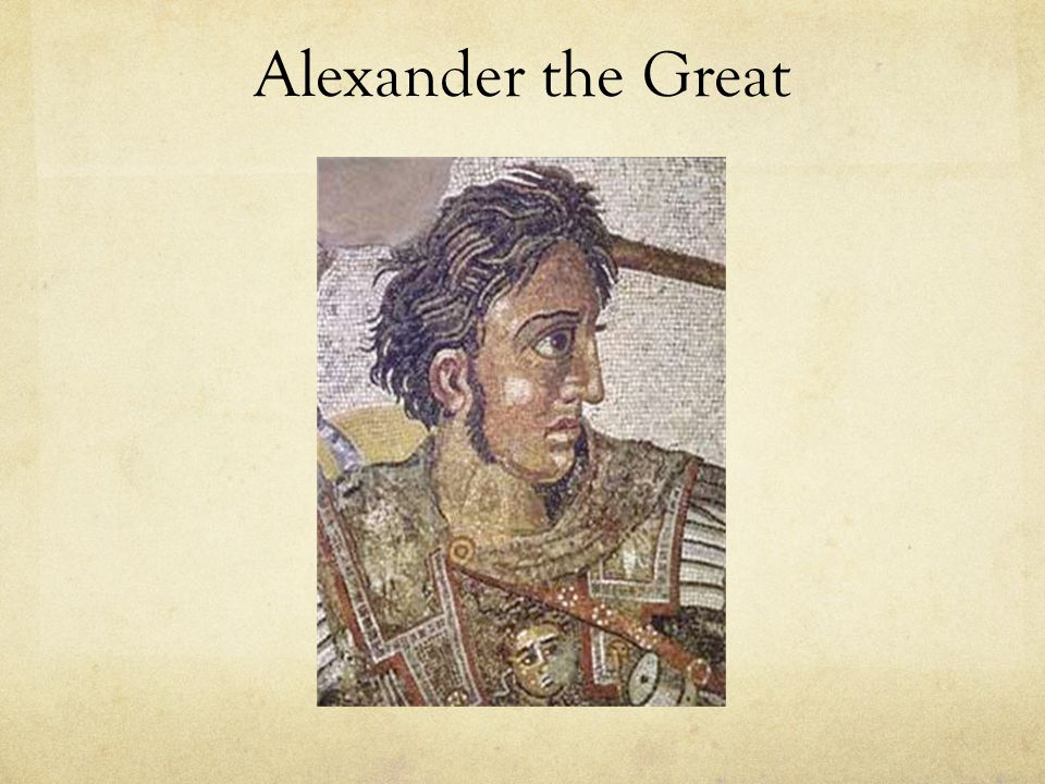 3.Alexander the Great a. Background i.