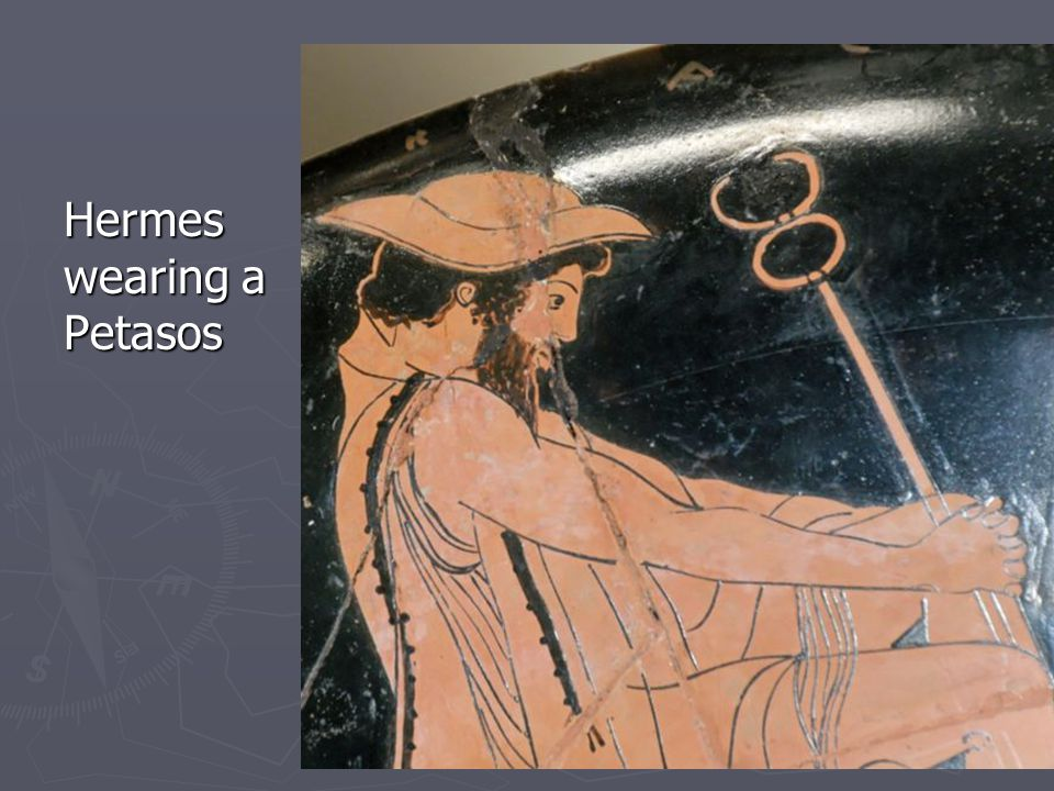 Hermes wearing a Petasos