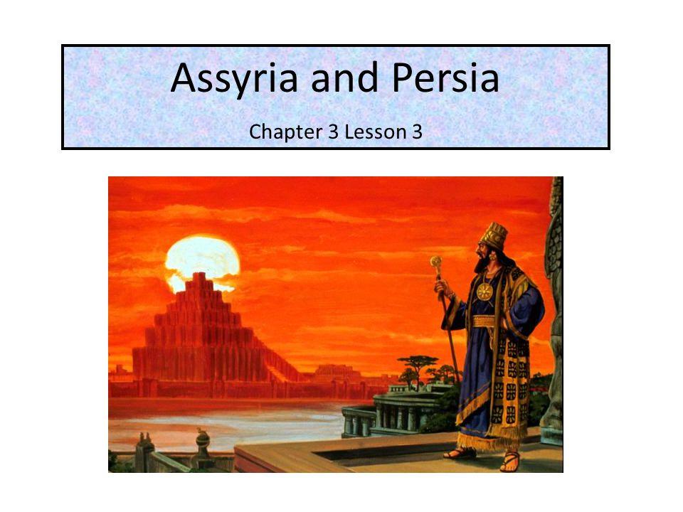 Zoroastrianism, the Persians' religion, was their most original cultural contribution.