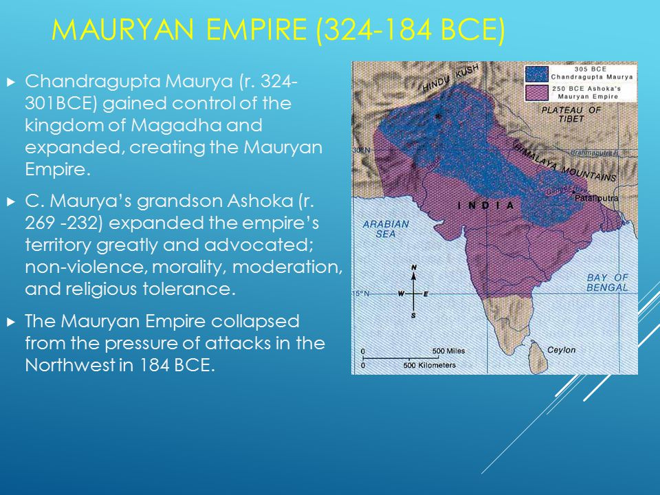GUPTA EMPIRE  Chandra Gupta (r.320-335 CE) founded the Gupta Empire.