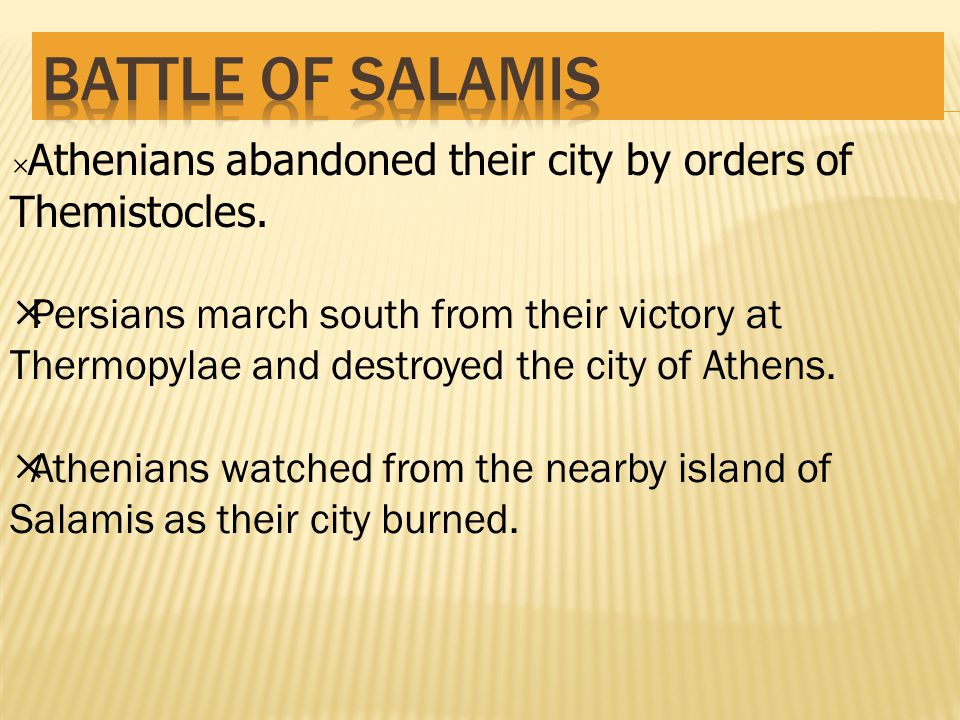  Athenians abandoned their city by orders of Themistocles.