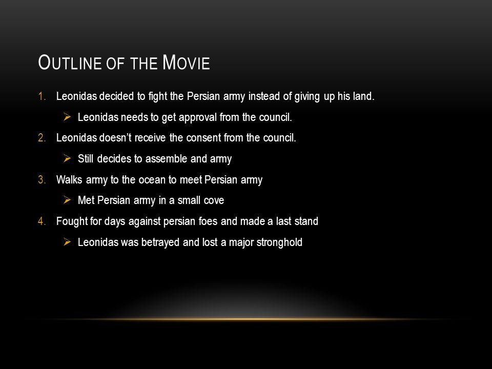 MAIN CHARACTER This is Leonidis the main role in 300 This is a sword that Leonidas uses to fight