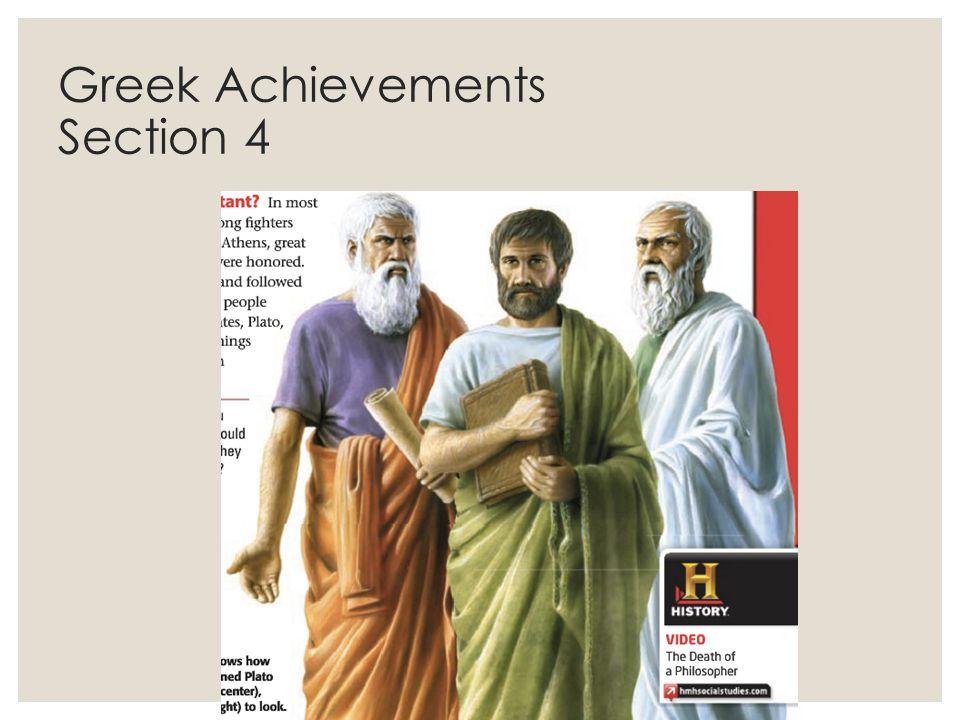 Greek Achievements Section 4