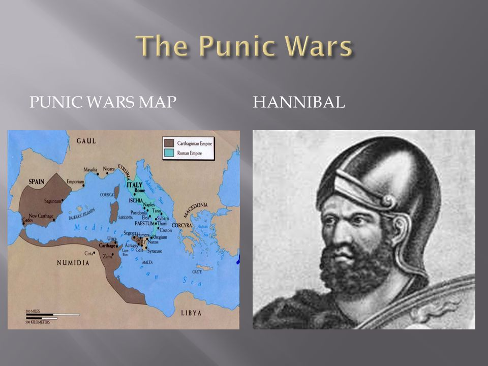 PUNIC WARS MAPHANNIBAL