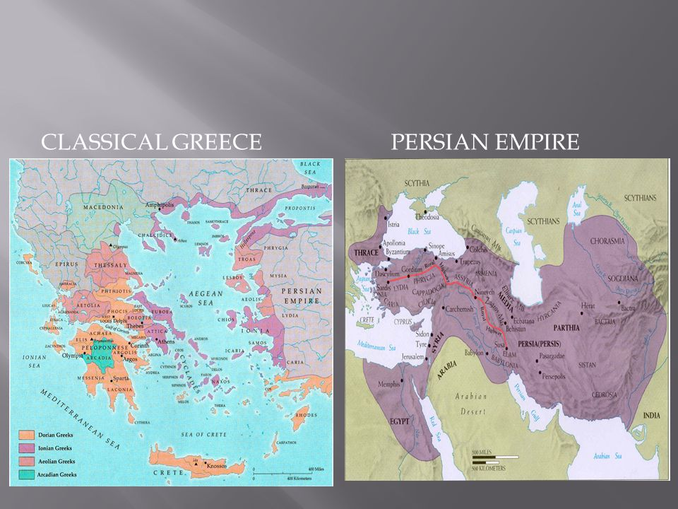  As the Persian Empire expanded, it came into conflict with Greeks living in western Asia Minor (Ionia).