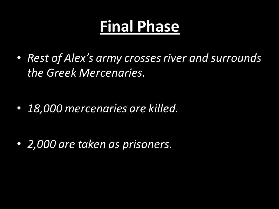 Alexander's Tactics