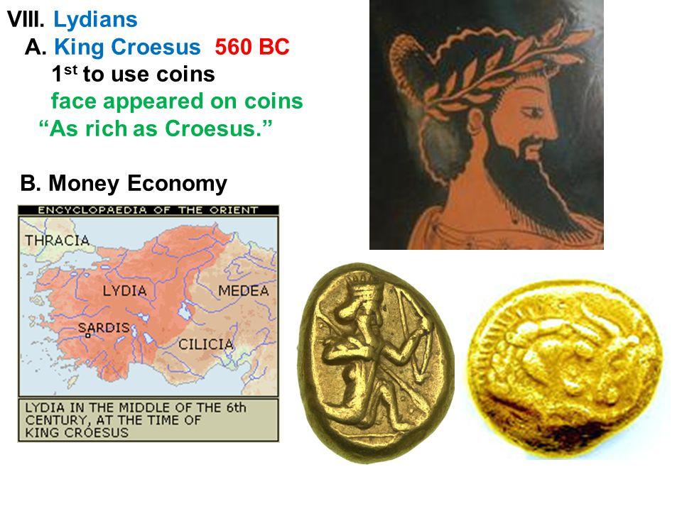 VIII. Lydians A.