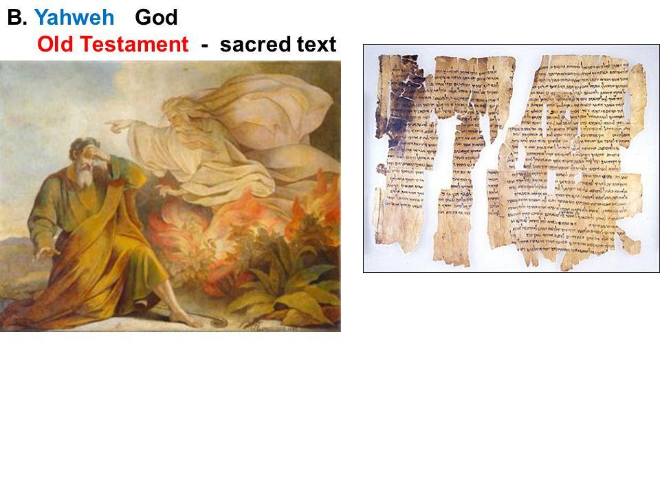 C. Moses & Exodus 1200 BC *flight from Egypt 10 Commandments