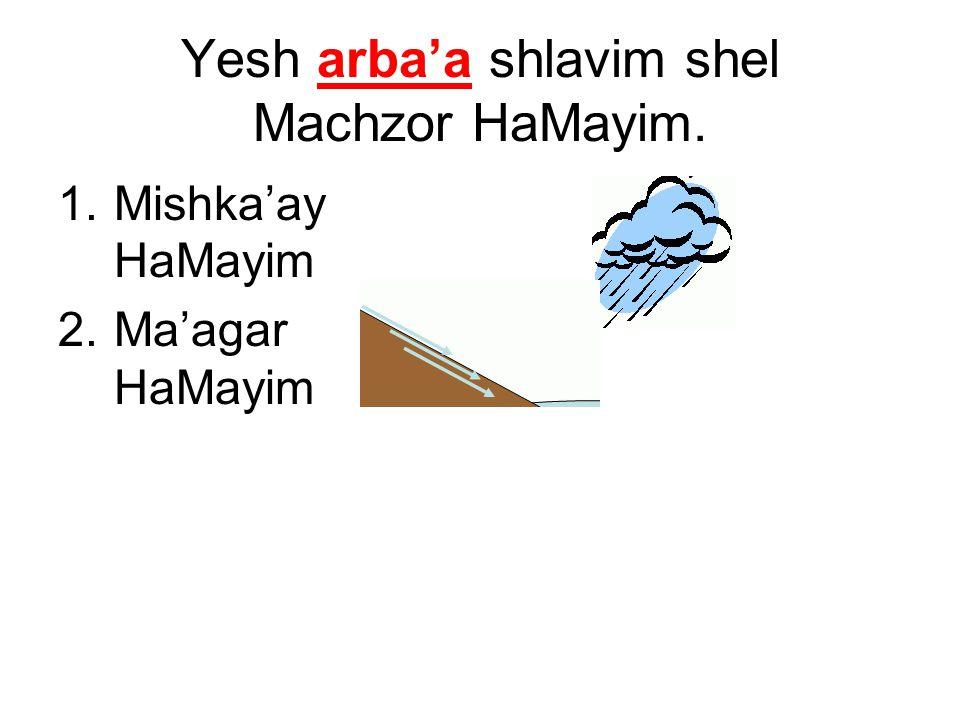 1.Mishka'ay HaMayim