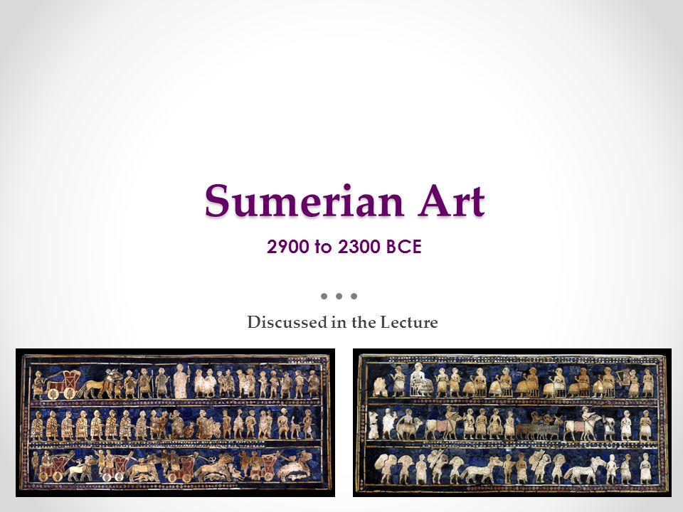 Neo-Sumerian Art 2150 to 2000 BCE