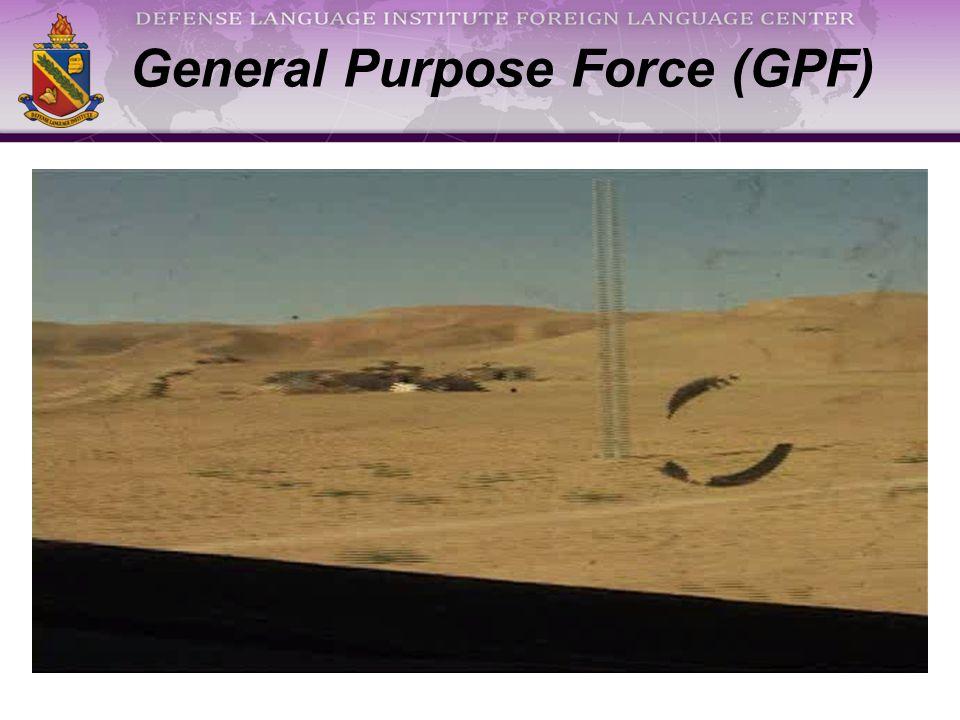 General Purpose Force (GPF)