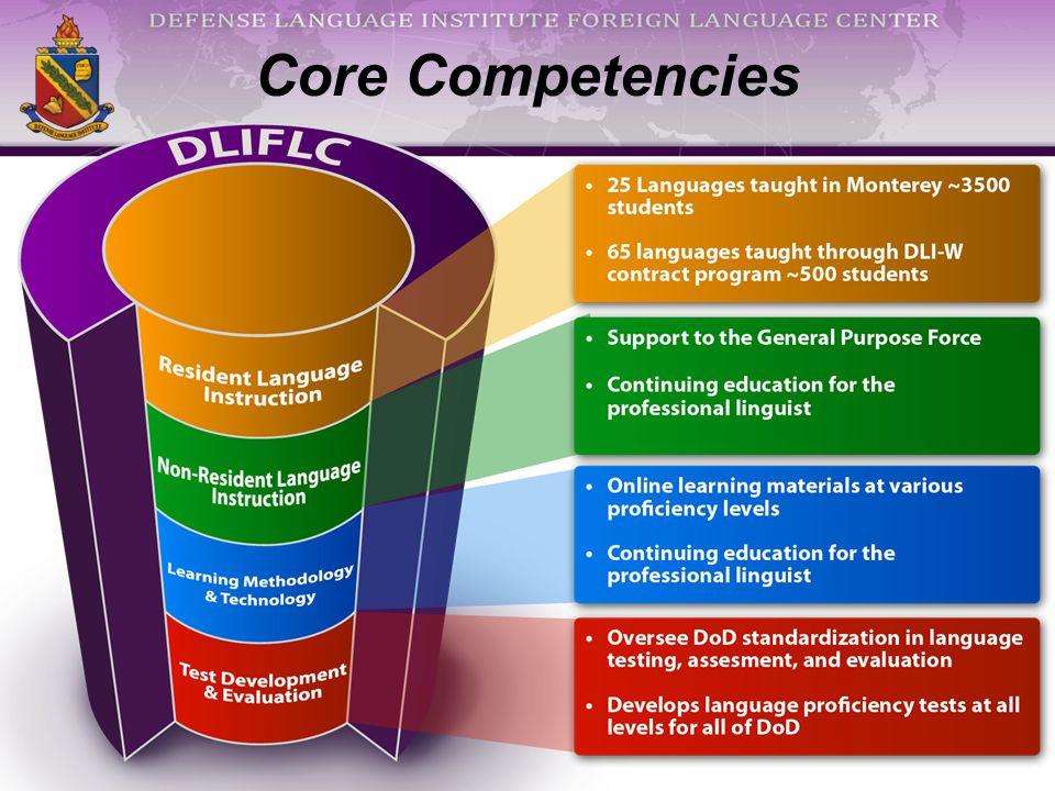 Core Competencies linguist