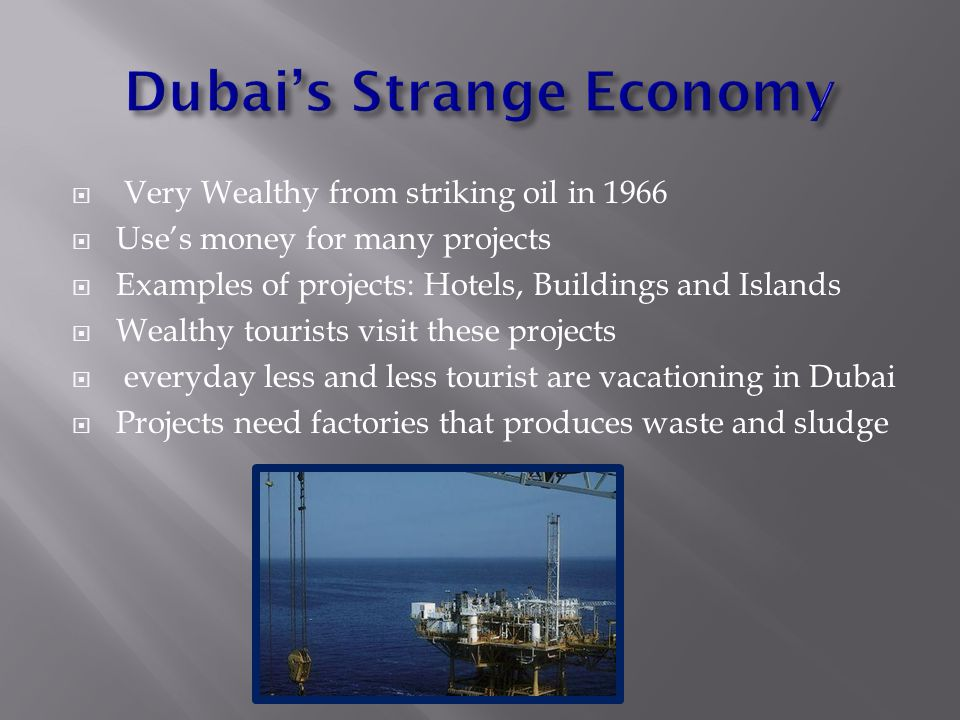  What are the two greatest environmental concerns in Dubai, UAE.