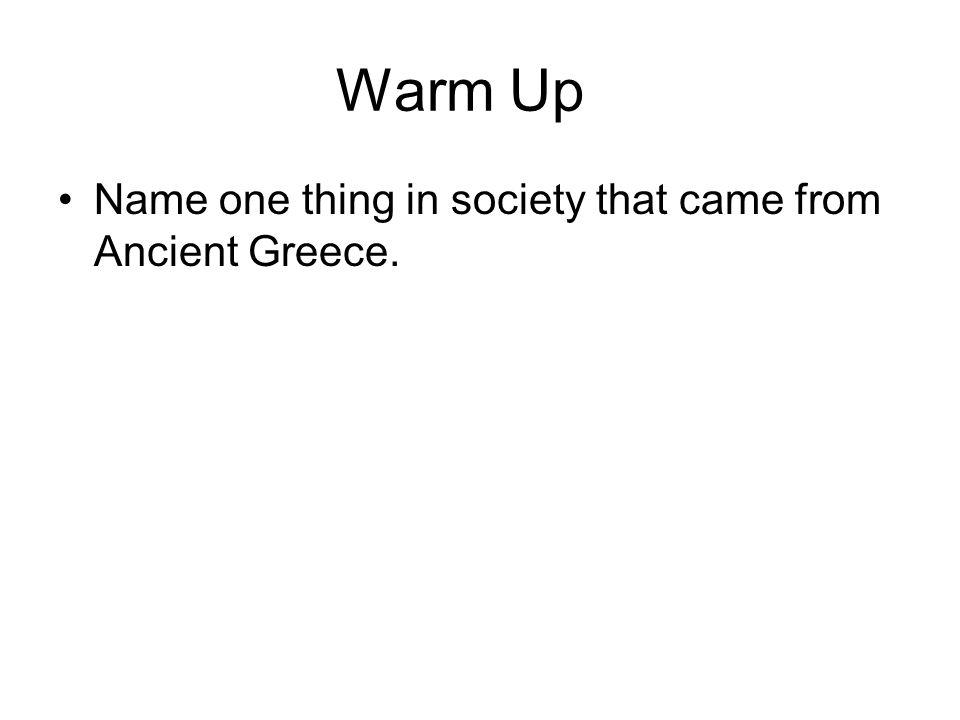 Ancient Greece 1750 B.C. – 133 B.C.