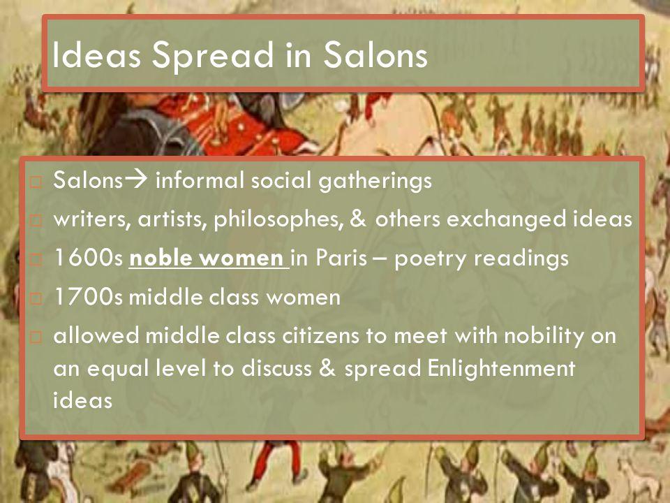 Salons  Madame Geoffrin  Rue St.