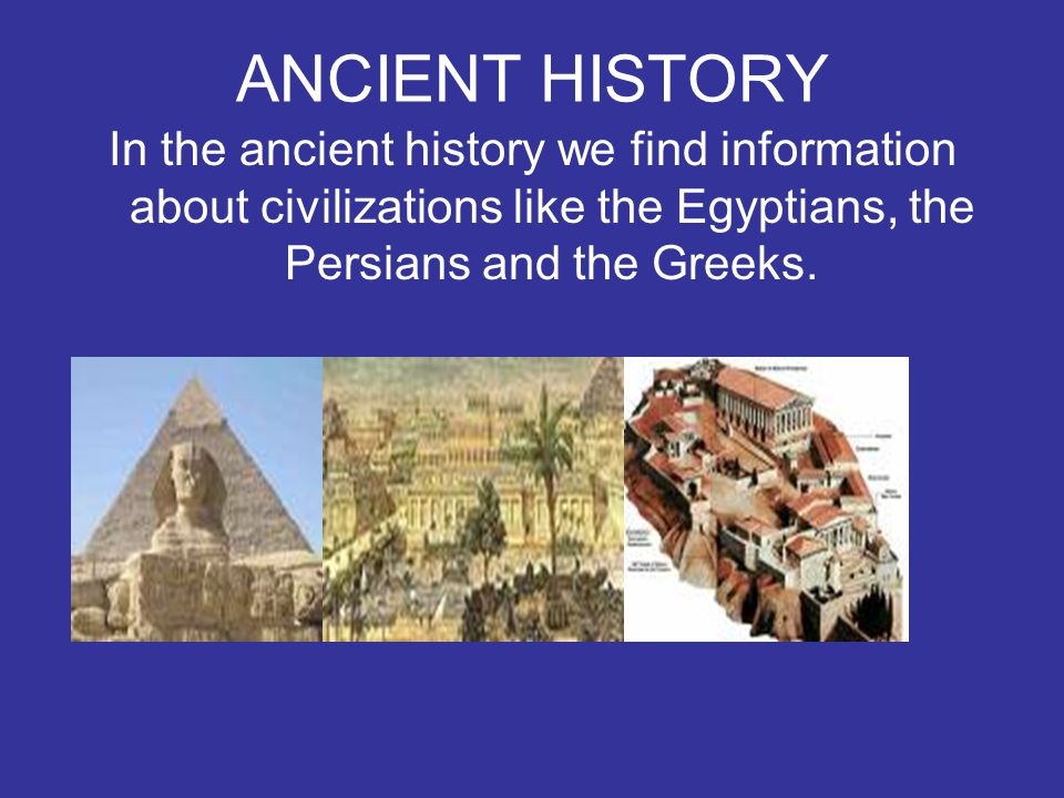 ROMAN HISTORY In the Roman history we can find information about the roman civilization.
