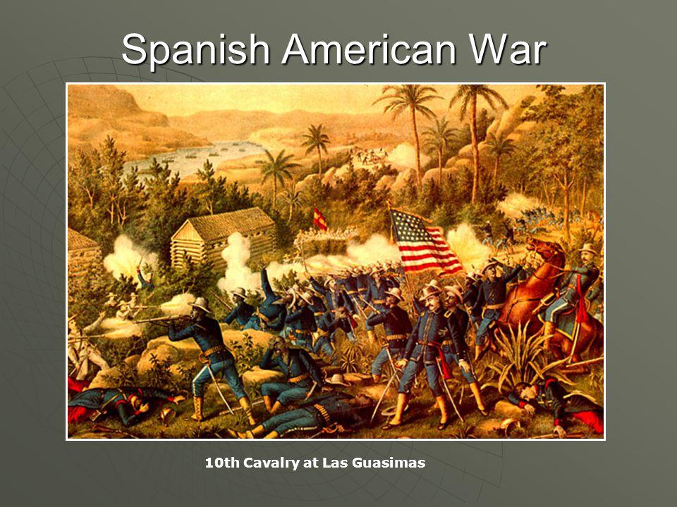 Spanish American War 10th Cavalry at Las Guasimas