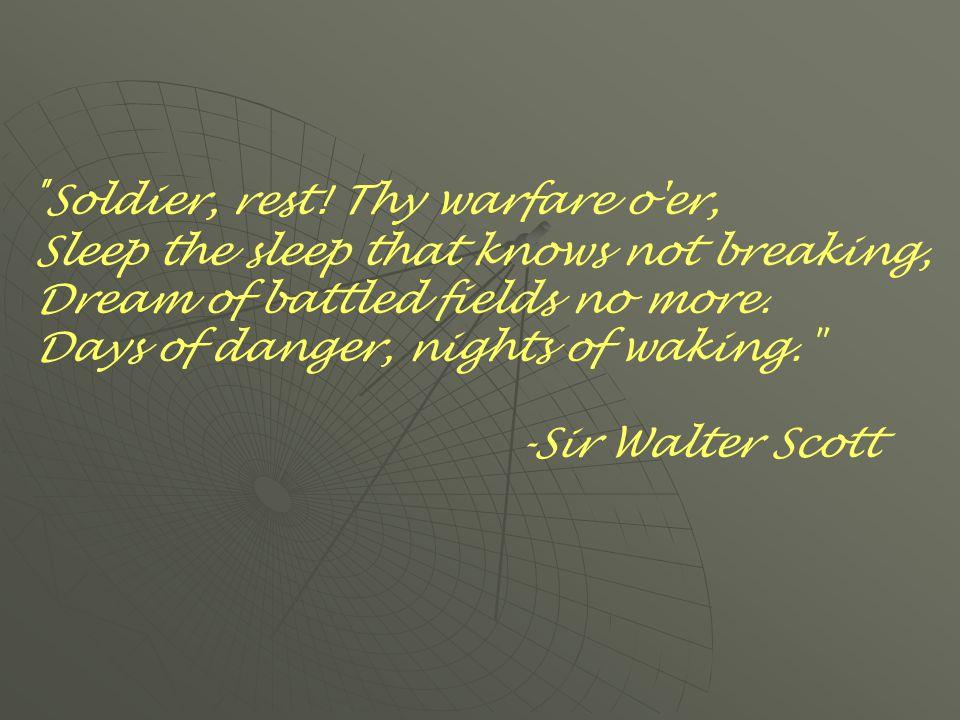 Soldier, rest.