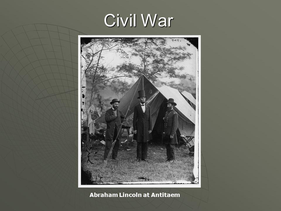 Civil War Abraham Lincoln at Antitaem