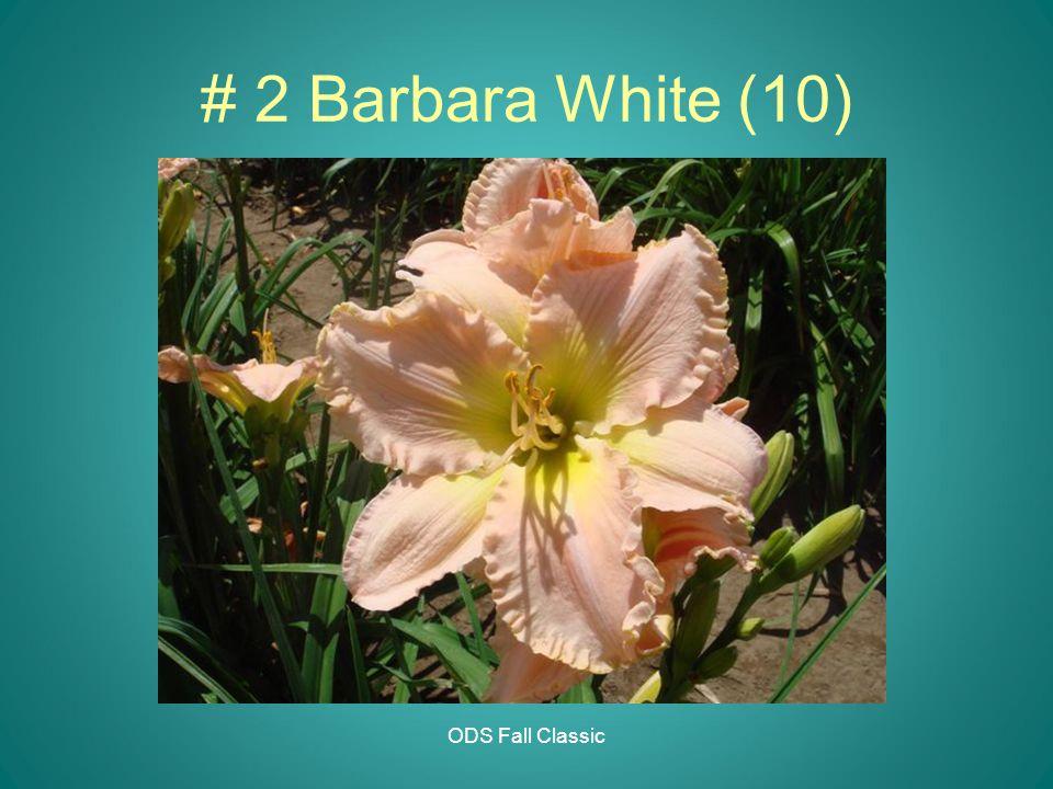 ODS Fall Classic # 2 Barbara White (10)