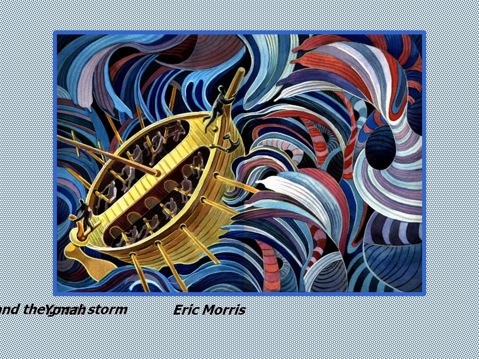 Eric Morris and the great storm Yonah