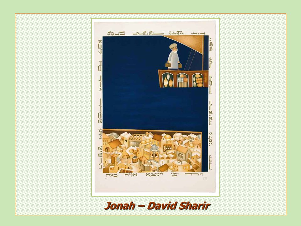 Jonah – David Sharir