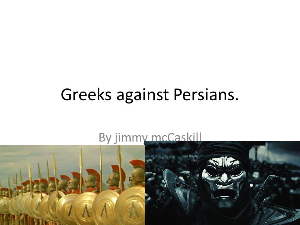 Darius's son Xerxes attacked by land.