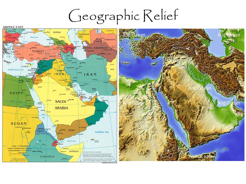 Geographic Relief