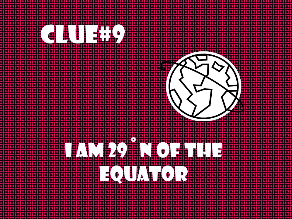 Clue #8 I do not touch any bodies of water; I'm a landlocked country.
