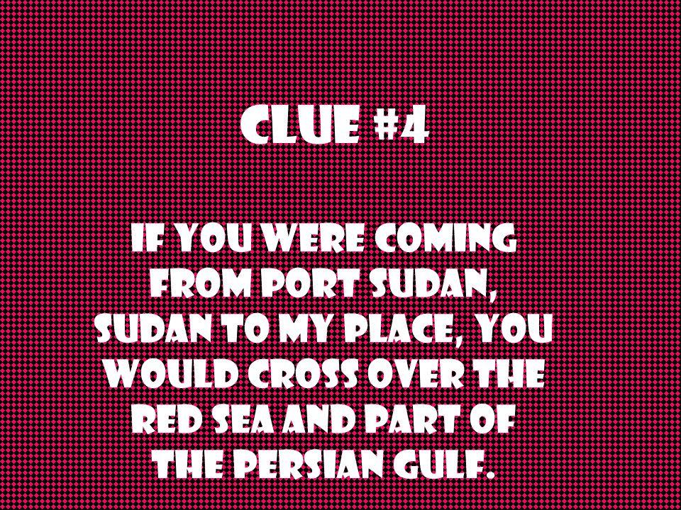 Clue #3 I am a country.