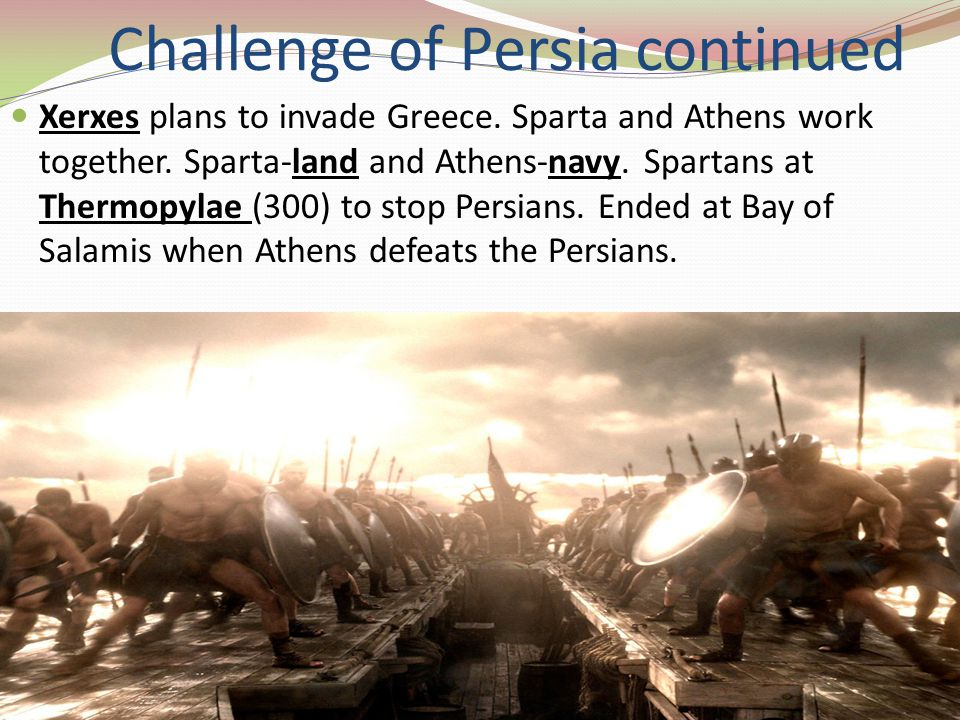Athenian Empire Athens took over leadership of Greek world.