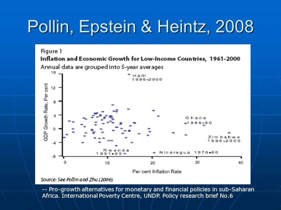 Pollin, Epstein & Heintz, 2008 -- Pro-growth alternatives for monetary and financial policies in sub-Saharan Africa.
