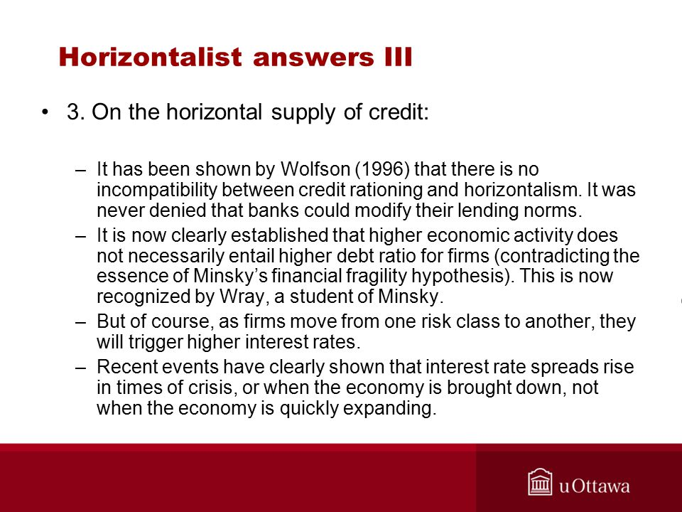 Horizontalist answers III 3.