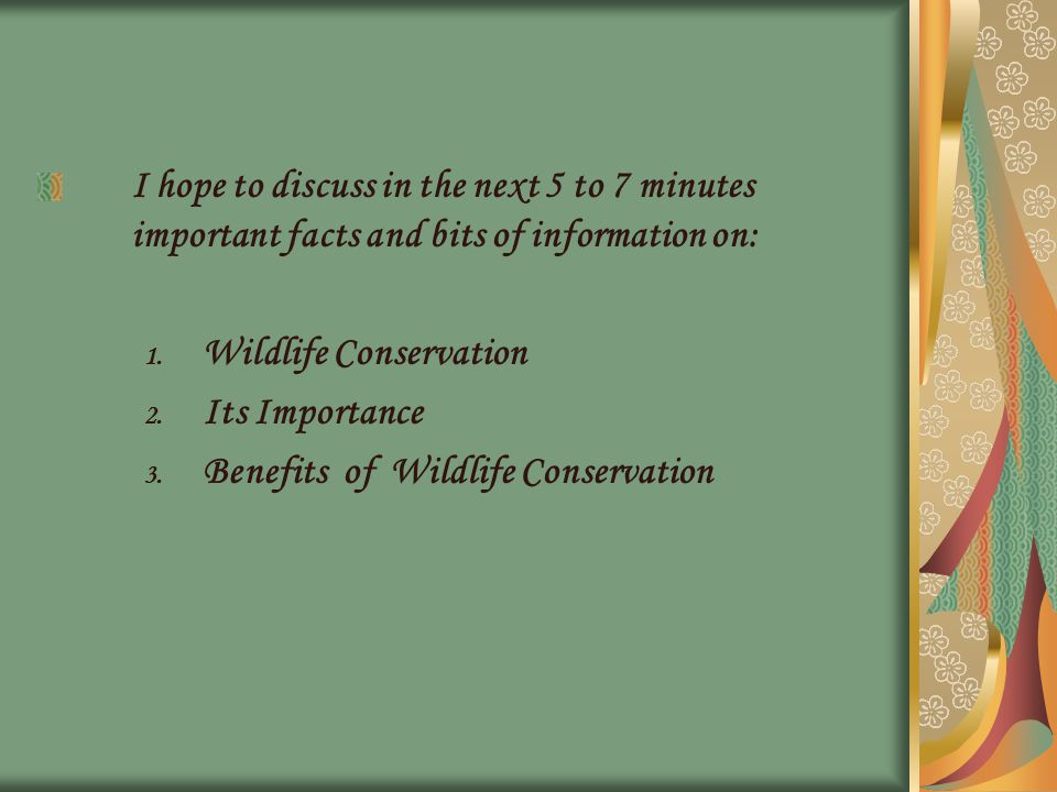 http://www.wisegeek.com/what-is-wildlife- conservation.htm Visit: http://wiki.answers.com/Q/What_is_the_definition_ of_wildlife_conservation
