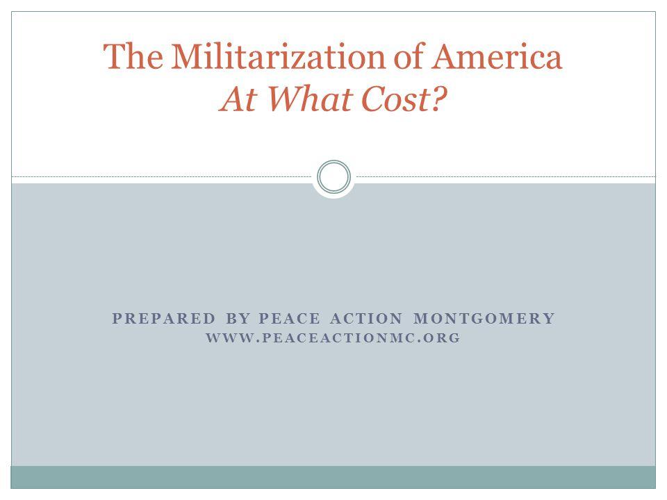 Militarism: Threat to American Democracy 72