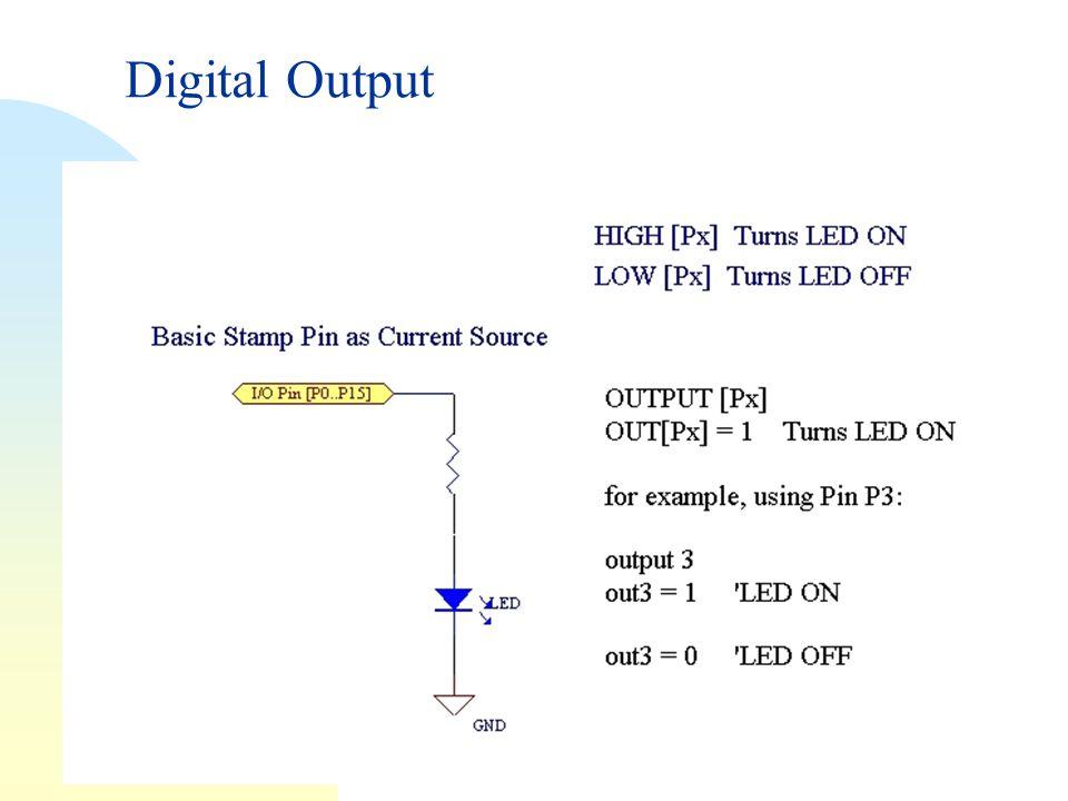 Digital Output