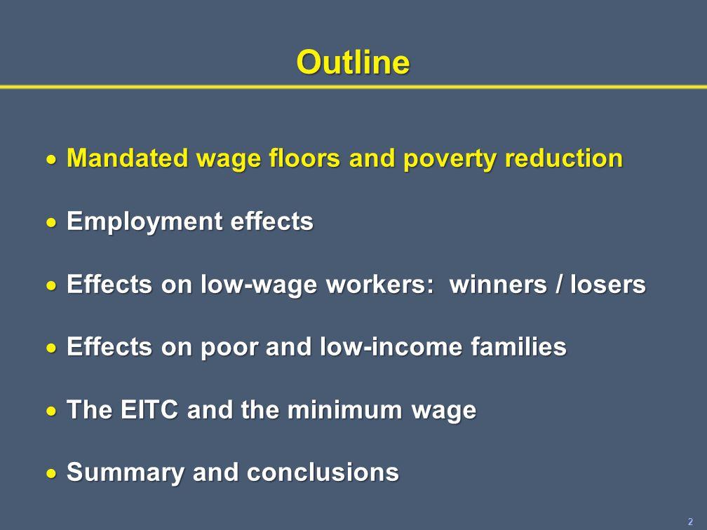 33 Minimum wage-EITC interactions.